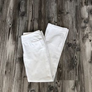 Like new white jeans